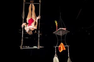 Die Trapezkünstlerin, Foto: Vojtech Brtnicky